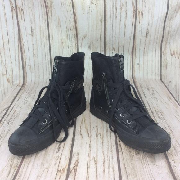 Converse Chuck Taylor All Star Combat Boot Black